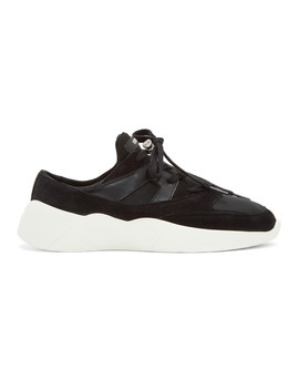 Ssense Exclusive Black Backless Sneakers by Essentials