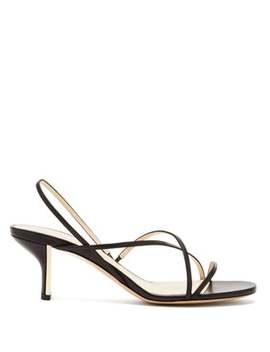 Leelo Leather Sandals by Nicholas Kirkwood