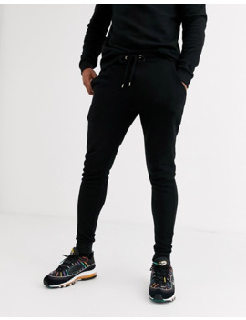 Asos Design Tracksuit With Gold Embroidery Detail by Asos Design