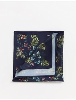 Asos Design Floral Print Pocket Square by Asos Design