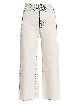 Wide Leg Cropped Jeans by Proenza Schouler White Label