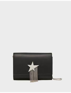 Bag With Metallic Star And Fringe by Bershka