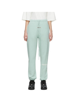 Blue Fleece Lounge Pants by Essentials