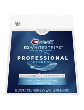 Crest 3 D Whitestrips Professional Express Teeth Whitening Kit   7ct by Crest