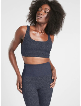 A C Exhale Bra In Soft Luxe by Athleta