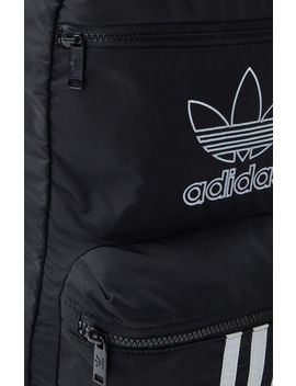 Adidas Black & White National 3 Stripes Backpack by Pacsun