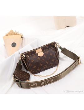 DesignerLuxury Handbags Purses Three Piece Suit Bags Multi Pochette Accessoires Mini Coin Purse 19sLouisVuitton by D Hgate.Com