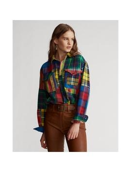 Patchwork Flannel Shirt by Ralph Lauren