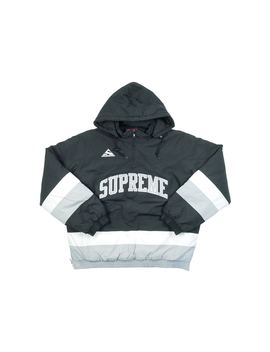 Supreme Puffy Hockey Pullover Black by Stock X