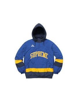 Supreme Puffy Hockey Pullover Royal by Stock X