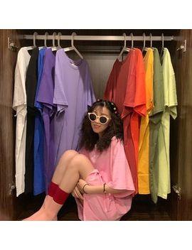 Shopherd   Elbow Sleeve Plain T Shirt Dress by Shopherd
