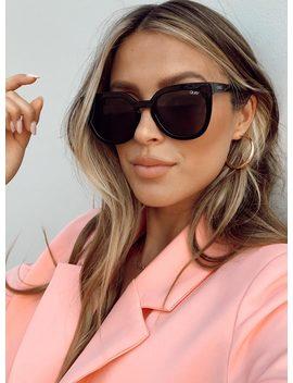 Quay Australia Black Noosa Sunglasses by Quay Australia