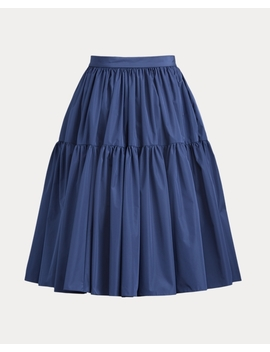 Addie Taffeta Skirt by Ralph Lauren