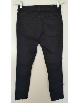 Witchery Ladies Designer Black Stretchy Skinny Leg Jeans Size 6 Euc by Witchery
