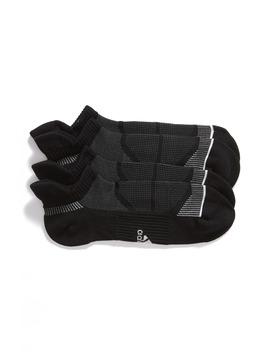 Prime Mesh Iii 2 Pack Tab No Show Socks by Adidas