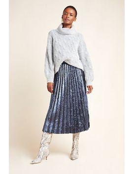 Natalia Sequined Midi Skirt by Maeve