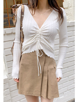 Overly Happy Mini Skirt by Chuu