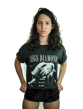 Vintage Legs Diamond Shirt Town Bad Girl 1980s Heavy Metal 80s Tee 80s Shirt Sex Concert Shirt Boho Rocker Motley Crue Sex Pistols Porn Rare by Etsy