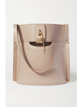 Aby Smooth And Textured Leather Tote by Chloé