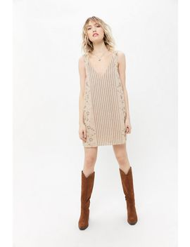Uo Chloe Embellished Mini Dress by Urban Outfitters