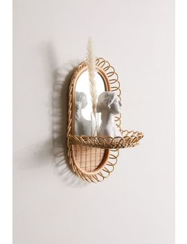 Priscilla Mirror Wall Shelf by Urban Outfitters