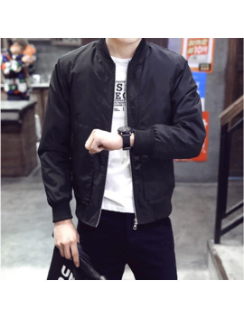 Black Bomber Jacket by Alpha Industries  ×  Unbranded  ×