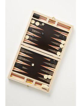 Wolfum Travel Backgammon Game by Wolfum