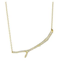 Wonderland 18k Diamond Twig Necklace by Mimi So