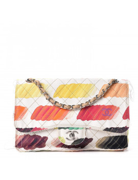 Chanel Canvas Jumbo Colorama Flap Multicolor by Chanel