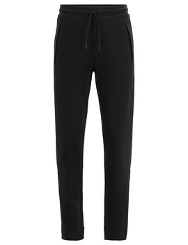 Slim Fit Jersey Pants With Drawstring Waist Slim Fit Jersey Pants With Drawstring Waist by Boss
