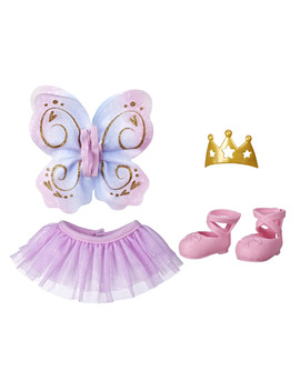 Littles By Baby Alive Little Styles, Ballet Themed Outfit For Littles Toddler Dolls by Baby Alive