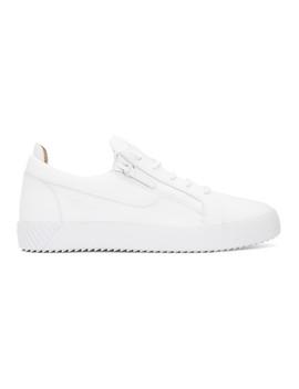 White July Sneakers by Giuseppe Zanotti