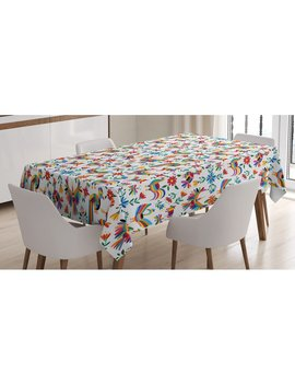 Mexican Dining Room Kitchen Tablecloth by East Urban Home