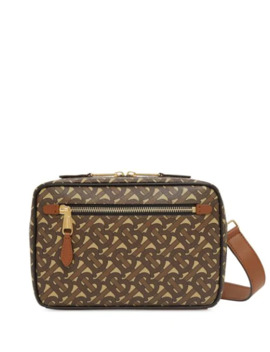 Tb Monogram Print Messenger Bag by Burberry