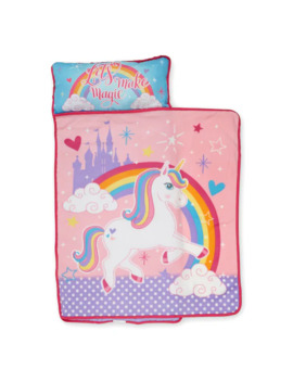 "Baby Boom Unicorn ""Let's Make Magic"" Toddler Nap Mat by Baby Boom"