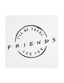 Friends Logo Canvas Art Print by Pottery Barn