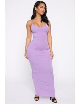 Ajay Maxi Dress   Lavender by Fashion Nova