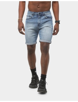 Saint Morta Ethos Denim Short Superwash Blue by Saint Morta