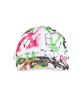 Paneled Graffiti Cap by Off White