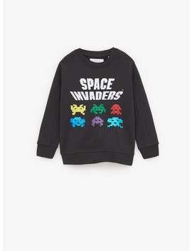 Space Invaders Sweatshirt by Zara