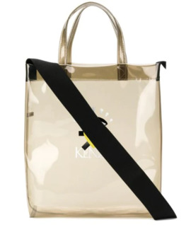 Transparent Logo Tote Bag by Kenzo