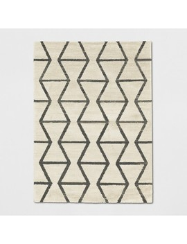 Glacier Hourglass Woven Area Rug   Project 62™ by Project 62