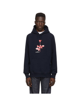 Navy Depeche Mode Violator Hoodie by Noah Nyc