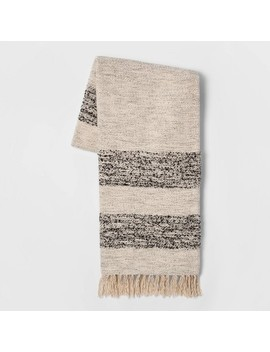 Woven Stripe Throw Blanket   Threshold™ by Shop Collections