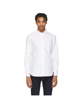 White Antime Oxford Shirt by Officine GÉnÉrale