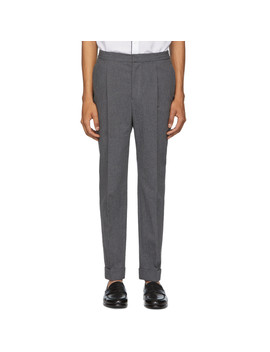 Grey Drew Trousers by Officine GÉnÉrale