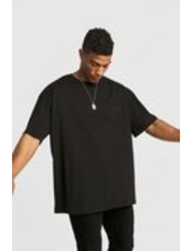 Basic Oversized Rolled Sleeve T Shirt by Boohoo Man