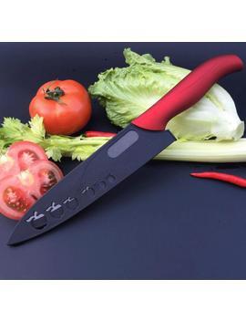 8 Inch Ceramic Knife Zirconia Black Blade Anti Slip Color Handle Fruit Vegetable Cooking Kitchen Knives by Ali Express.Com