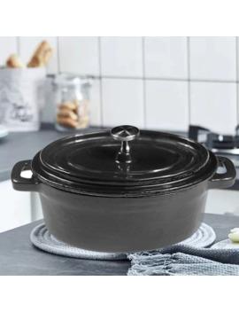 Dutch Ovens Enameled Cast Iron Covered Casserole Oval Mini Pot Panela Cooking Pot Cookware Ollas De Cocina by Ali Express.Com