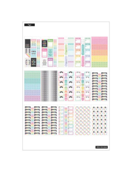 The Classic Happy Planner® Budget Value Pack Stickers by Me & My Big Ideas
